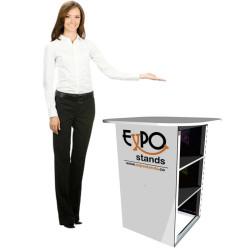 Mesa de reunión y ventas portable