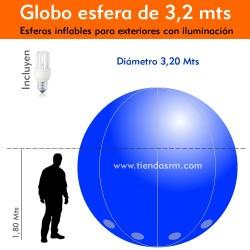 Globo Esfera de 3,2 Mts