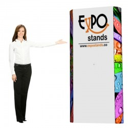 ExpoStands - Backing Pared Doble 2x1