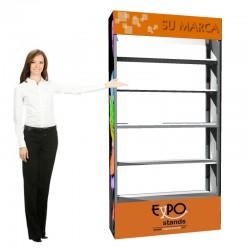 ExpoStands - Repisa exhibidor 2x1