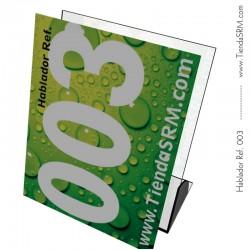 Hablador de mesa tamaño carta Ref. 003
