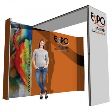 Stand publicitario de 3x2 Expo Stand Ref. ES-St-3x2-001