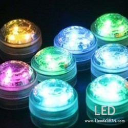 LED Mini Sumergible (Caja x 10)