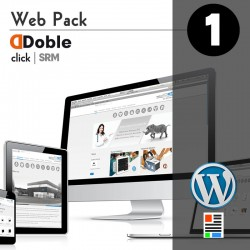 Doble Click / Webpack 1 (one pager website)