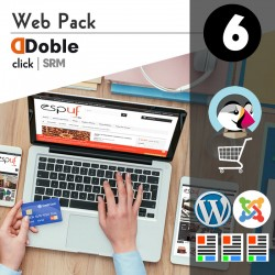 Doble Click / Webpack 6 (Web site + Tienda virtual)