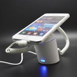 Alarma de seguridad con soporte pedestal para celulares y tabletas. (x6 unidades)